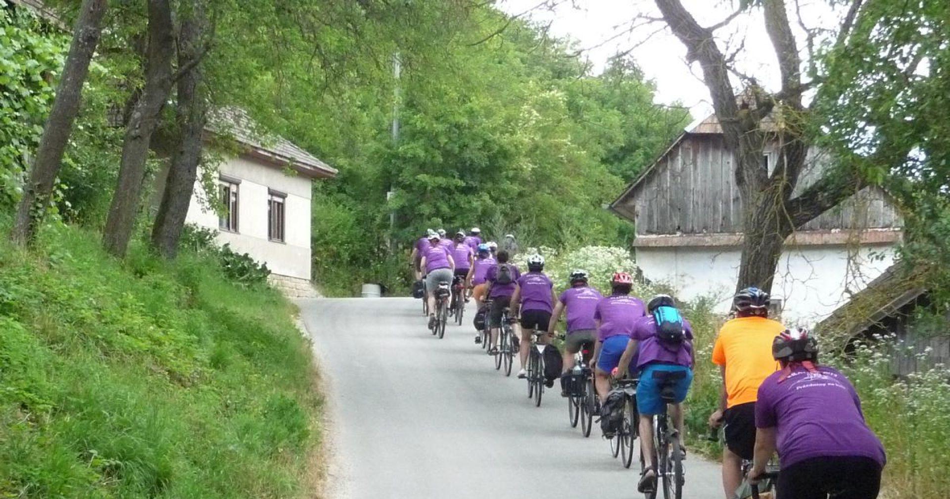 37. ročník desetidenního putování na kolech